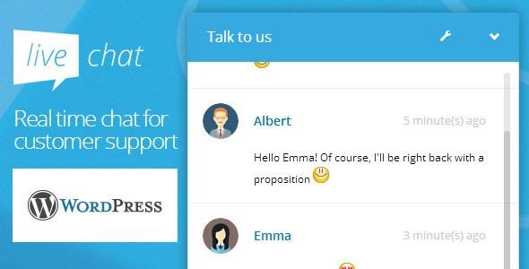 Как сделать онлайн чат на WordPress изображение поста