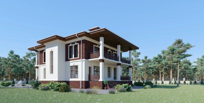 Дизайн и проектирование двухэтажного дома изображение поста