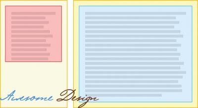 Двух колоночная вёрстка — SEO подход изображение поста