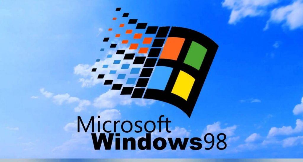 Фото Windows 98