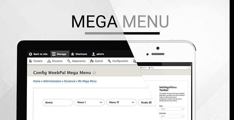 Добавляем mega menu изображение поста