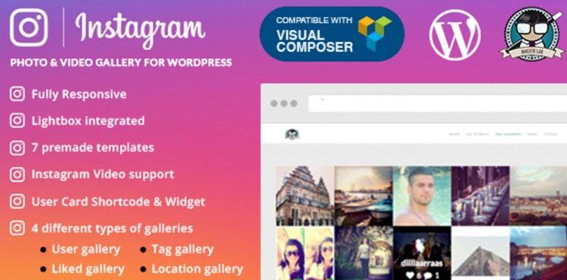 Виджет Instagram для WordPress изображение поста