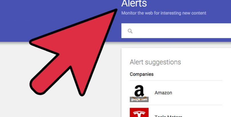 Введение в Google Alerts изображение поста